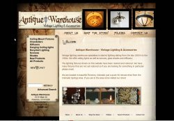 Antique Warehouse E-commerce